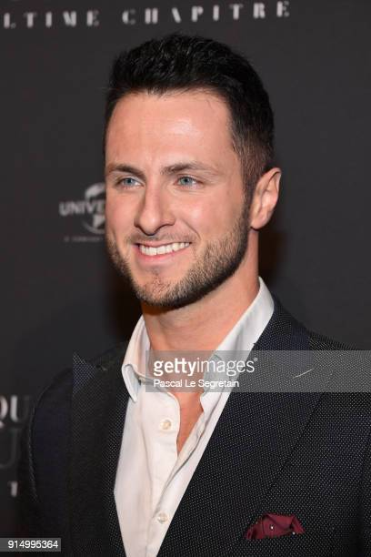 Christian Millette attends 'Fifty Shades Freed 50 Nuances Plus Claires' Premiere at Salle Pleyel on February 6 2018 in Paris France