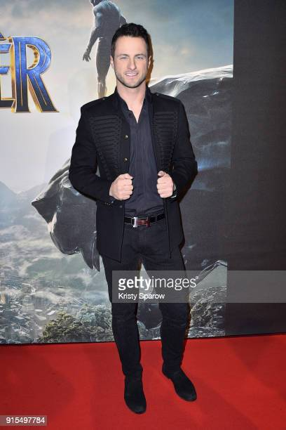 Christian Millette attends the 'Black Panther' Paris Special Screening at Le Grand Rex on February 7 2018 in Paris France
