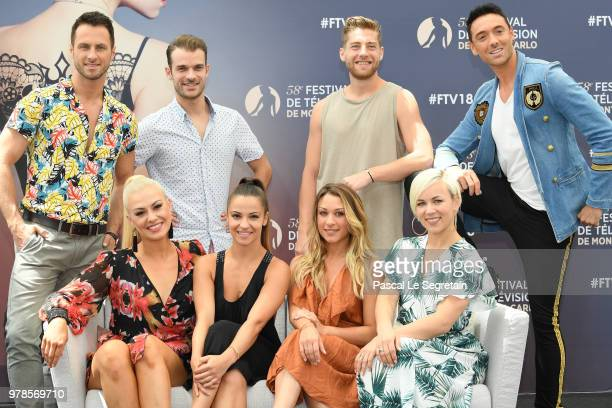 Christian MilletteGuillaume Foucault YannAlrick MortreuilMaxime Dereymez and Katrina PatchettJade GeroppDenitsa Ikonomova and Emmanuelle Berne of the...