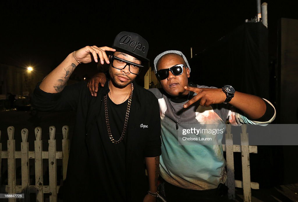 Christian Murphy and actor Kyle Massey attend Maxim's Hot 100 Celebration at Create Nightclub on May 15, 2013 in Hollywood, California.