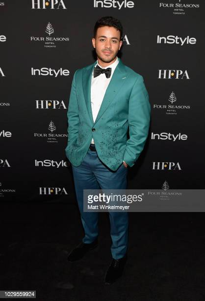 Christian Navarro attends 2018 HFPA and InStyle's TIFF Celebration at the Four Seasons Hotel on September 8 2018 in Toronto Canada
