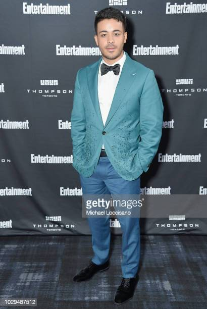 Christian Navarro attends Entertainment Weekly's Must List Party at the Toronto International Film Festival 2018 at the Thompson Hotel on September 8...
