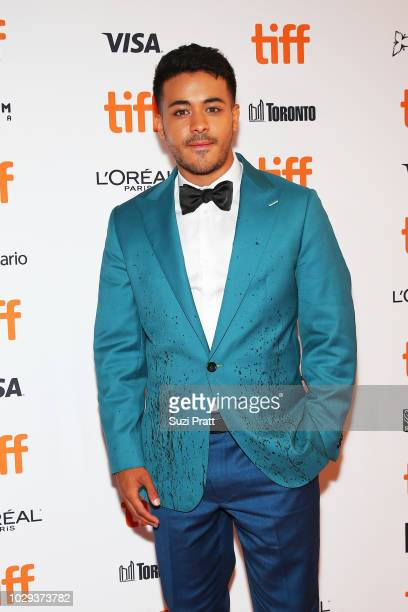 Christian Navarro attends the 'Can You Ever Forgive Me' premiere during 2018 Toronto International Film Festival at Winter Garden Theatre on...