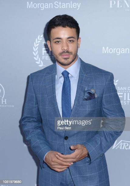 Christian Navarro attends the San Diego International Film Festival 2018 on October 11 2018 in San Diego California