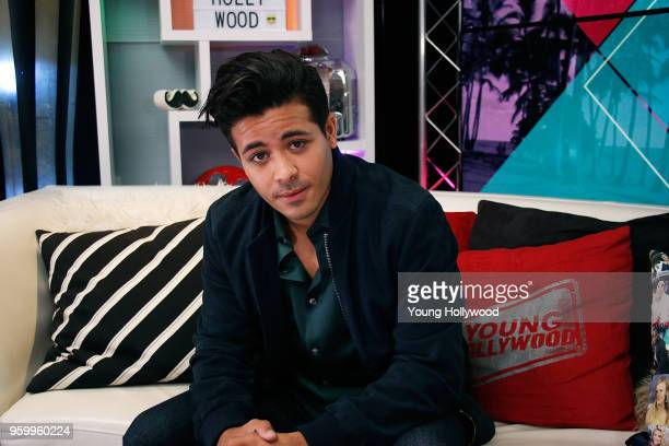 Christian Navarro visits the Young Hollywood Studio on May 18 2017 in Los Angeles California