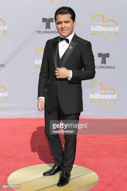 Christian Nodal attends the 2018 Billboard Latin Music Awards at the Mandalay Bay Events Center on April 26 2018 in Las Vegas Nevada