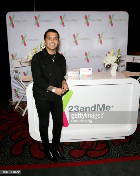 Christian Nodal attends the gift lounge during the 19th annual Latin GRAMMY Awards at MGM Grand Garden Arena on November 13 2018 in Las Vegas Nevada