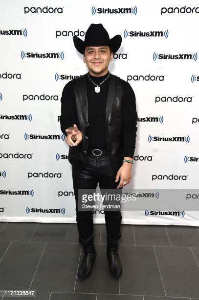 Christian Nodal visits SiriusXM Studios on September 04 2019 in New York City