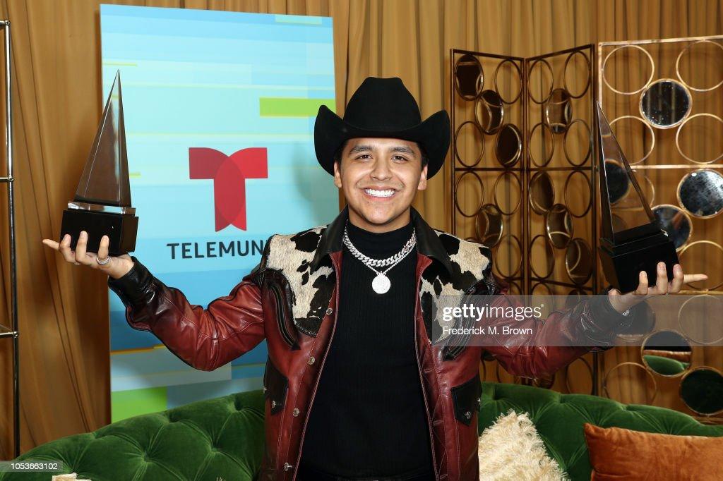 2018 Latin American Music Awards - Press Room : News Photo