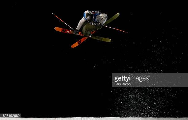 Christian Nummedal of Norway competes during the Ski Big Air Final of the ARAG Big Air Freestyle Festival on December 2 2016 in Moenchengladbach...