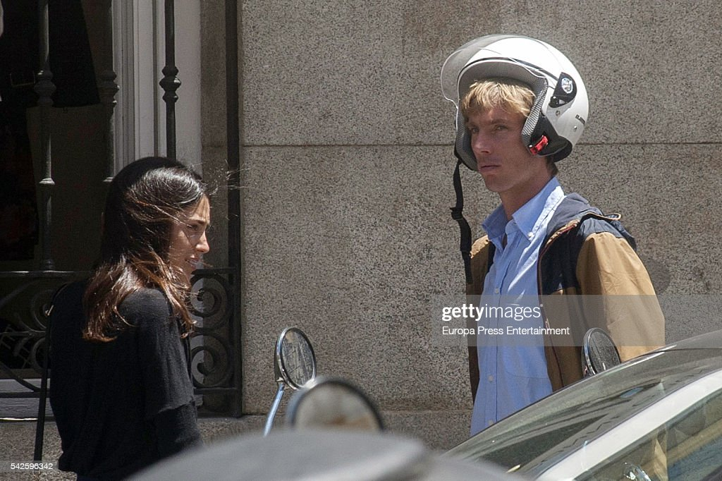 Christian of Hannover and Alessandra de Osma are seen on June 1, 2016 in Madrid, Spain.