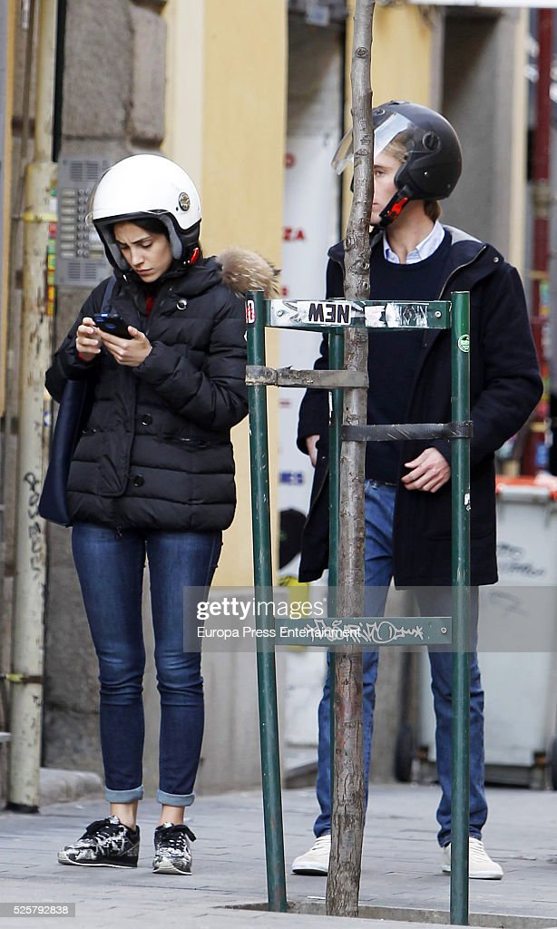Christian of Hannover and Alessandra de Osma are seen on March 21, 2016 in Madrid, Spain.