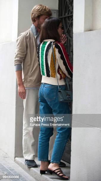 Christian of Hanover and Alessandra de Osma are seen on June 13 2018 in Madrid Spain