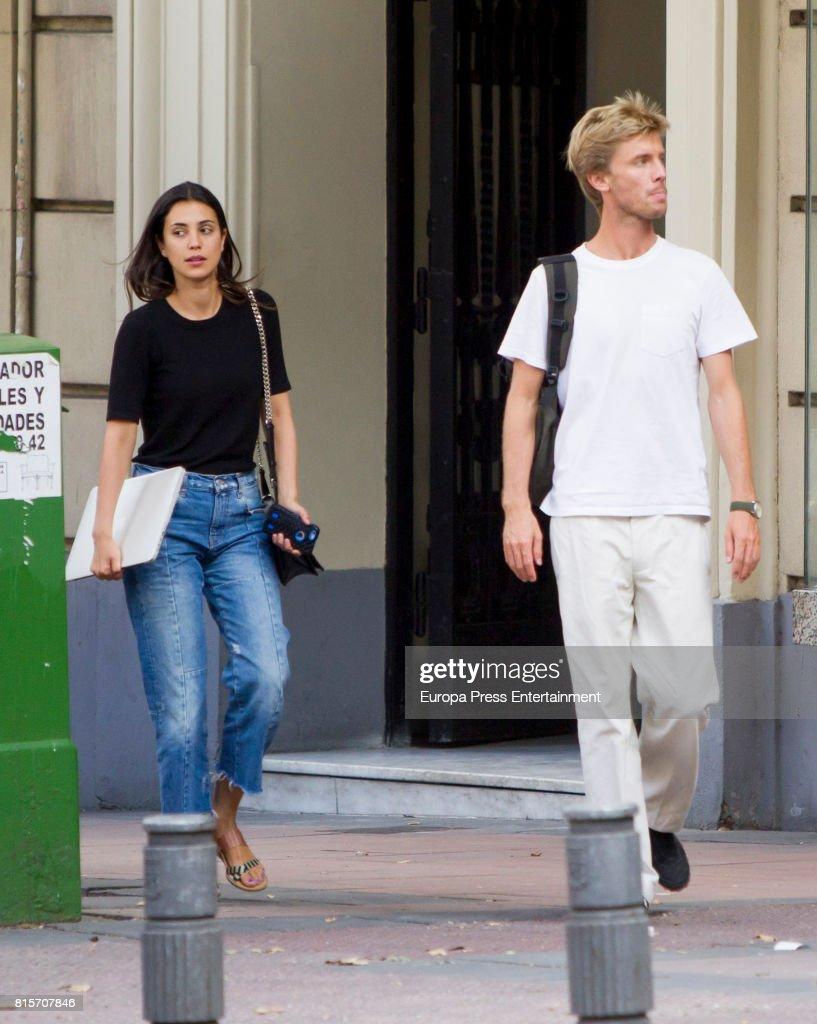 Celebrities Sighting In Madrid - June 27, 2017