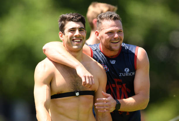 AUS: Melbourne Demons Training Session & Media Opportunity
