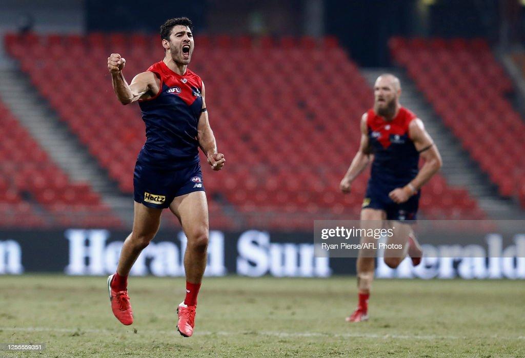 AFL Rd 6 - Melbourne v Gold Coast : News Photo