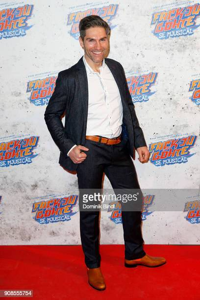 Christian Polanc attends the 'Fack ju Goehte Se Mjusicael' Musical Premiere at Werk 7 Theater on January 21 2018 in Munich Germany