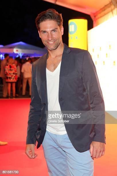 MUNICH GERMANY JUNE 26 Christian Polanc during the Movie meets Media Party during the Munich Film Festival on June 26 2017 in Munich Germany