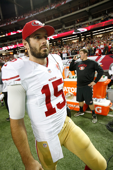 christian ponder 49ers jersey