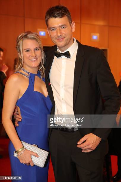 Christian Prokop attends with Sabrina Prokop the Ball des Sports 2019 at RheinMainCongressCenter on February 02 2019 in Wiesbaden Germany