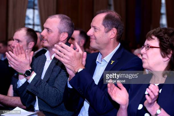 Christian Prudhomme director of the Tour de France applauds during the 2020 Tour de Yorkshire Route Presentation on January 17 2020 in Leeds England
