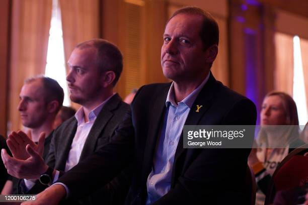 Christian Prudhomme director of the Tour de France reacts during the 2020 Tour de Yorkshire Route Presentation on January 17 2020 in Leeds England