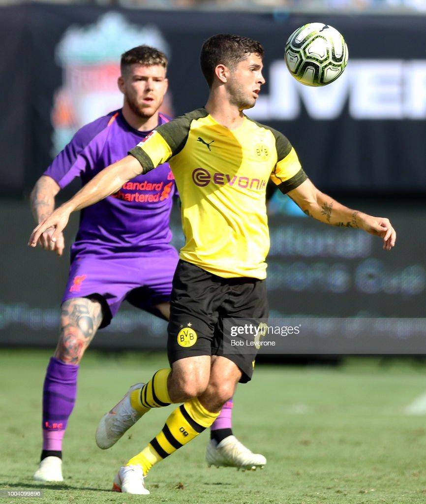 Liverpool v Borussia Dortmund - International Champions Cup 2018 : News Photo