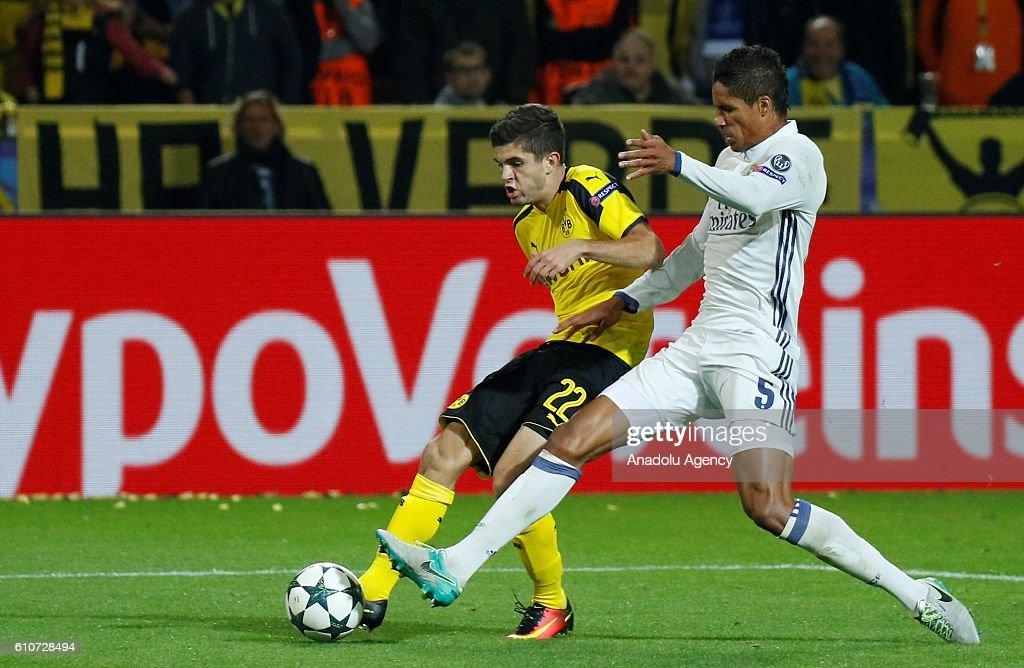UEFA Champions League - Borussia Dortmund v Real Madrid : News Photo