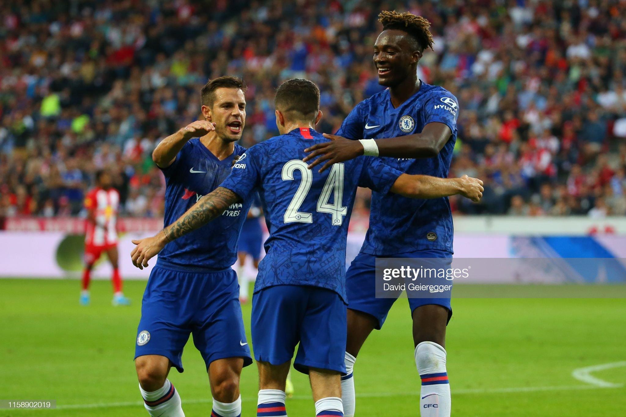 RB Salzburg v FC Chelsea - Pre-Season Friendly : News Photo