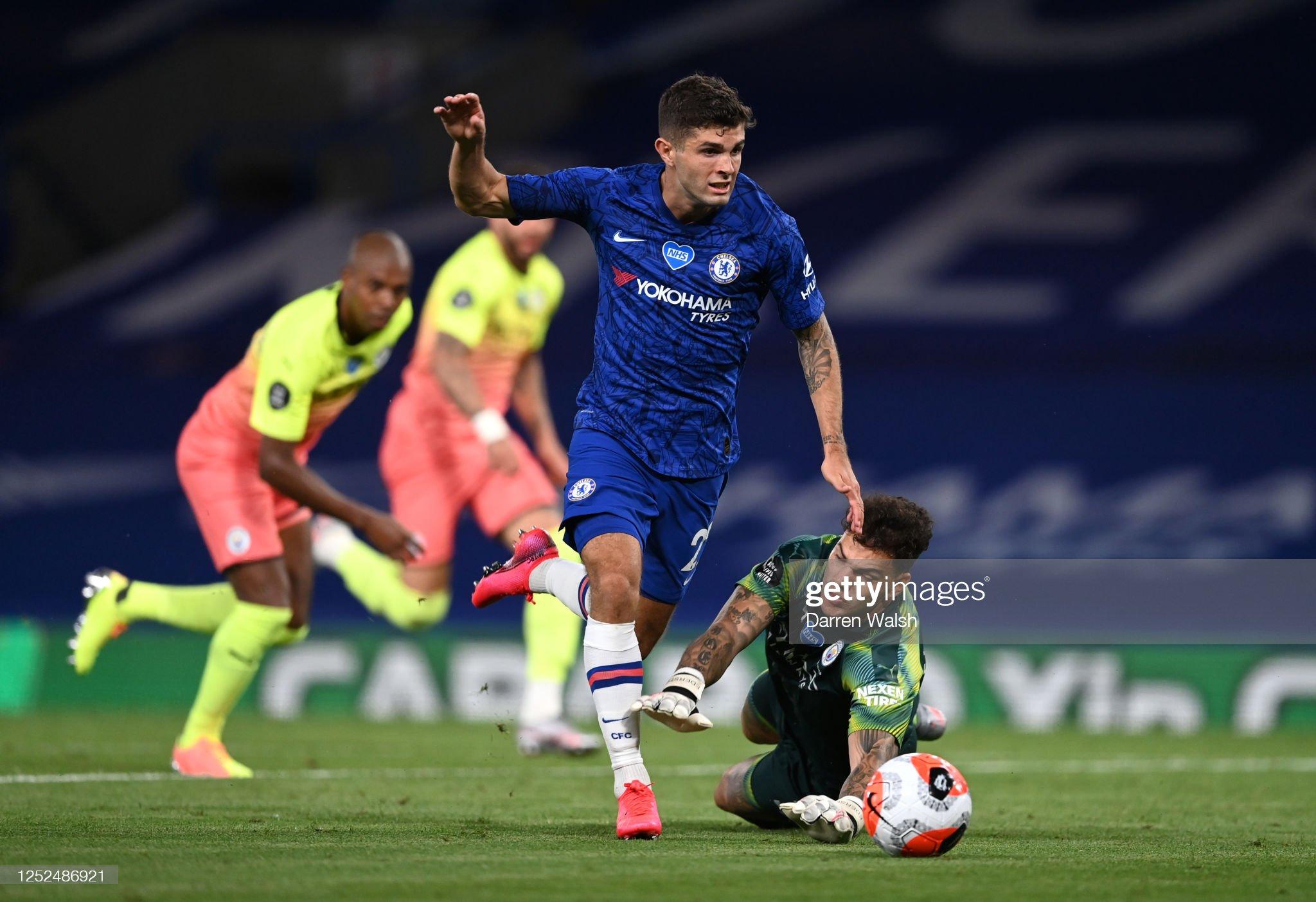 Chelsea FC v Manchester City - Premier League : News Photo