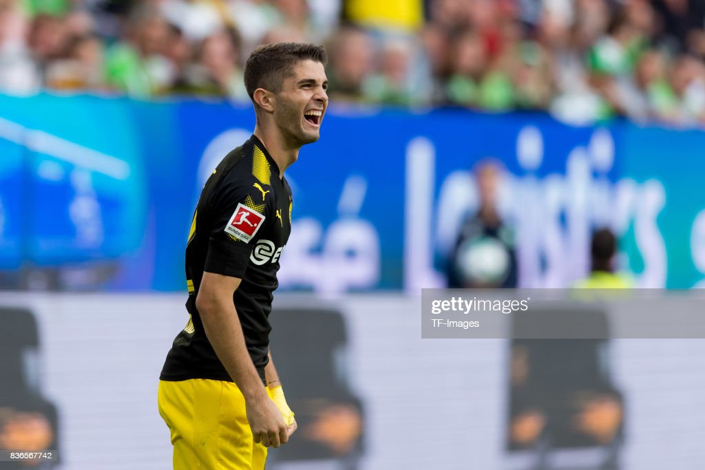 VfL Wolfsburg v Borussia Dortmund - Bundesliga : News Photo