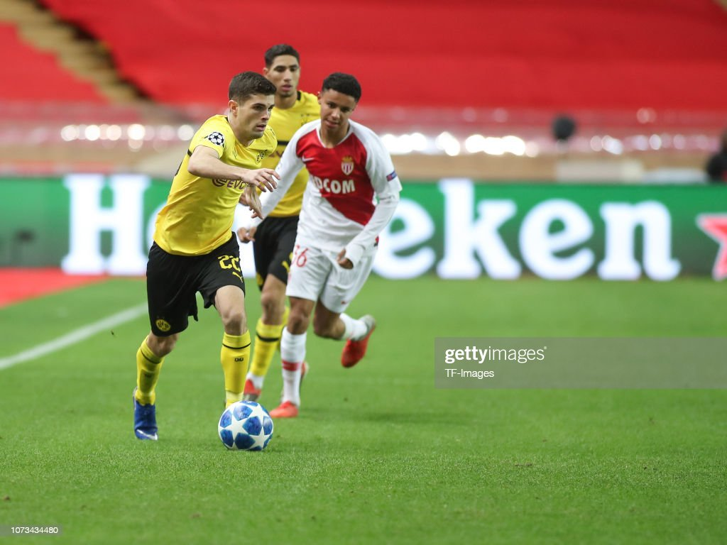 AS Monaco v Borussia Dortmund - UEFA Champions League Group A