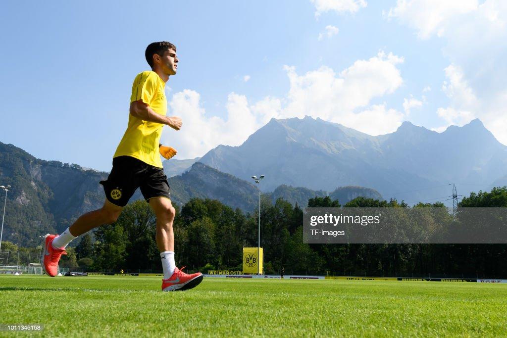 Borussia Dortmund Training Camp : News Photo