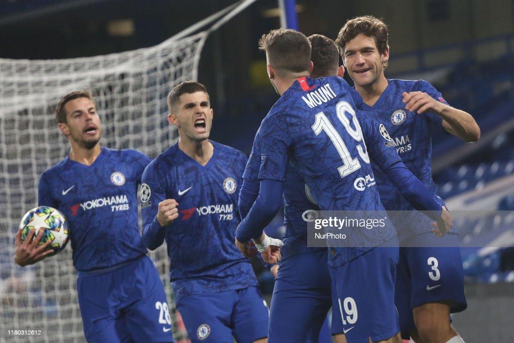 Chelsea FC v AFC Ajax: Group H - UEFA Champions League : News Photo