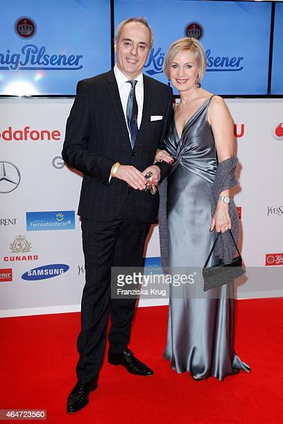Christian Rach and Andrea Rach attend the Goldene Kamera 2015 on February 27 2015 in Hamburg Germany