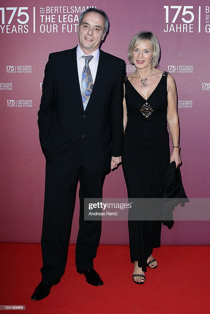Christian Rach and his wife Andrea Rach arrive for the Bertelsmann 175 years celebration ceremonial act at the Konzerthaus am Gendarmenmarkt on September 16, 2010 in Berlin, Germany.