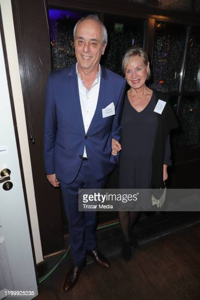 Christian Rach Andrea Rach during the Blankeneser new year reception on January 9 2020 in Hamburg Germany