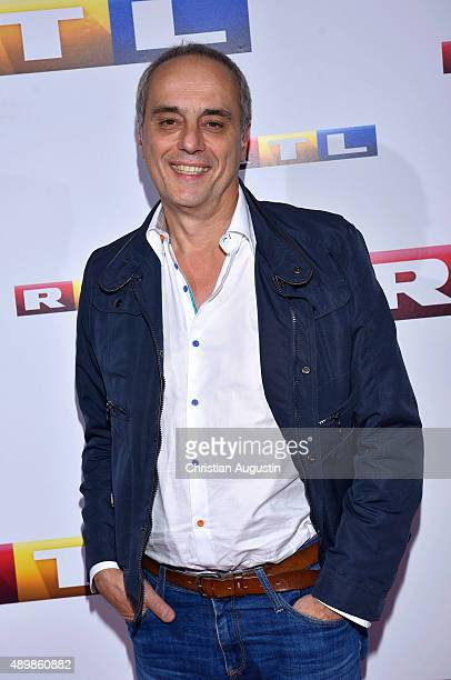 Christian Rach attends RTL Program Presentation and premiere of TV Production Deutschland 83 at Curiohaus on September 24 2015 in Hamburg Germany