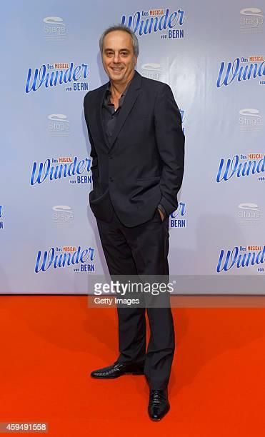 Christian Rach attends the 'Das Wunder von Bern' musical premiere on November 23 2014 in Hamburg Germany