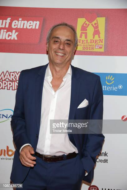 Christian Rach attends the 'Helden des Alltags' gala at Theater Kehrwieder on October 17 2018 in Hamburg Germany