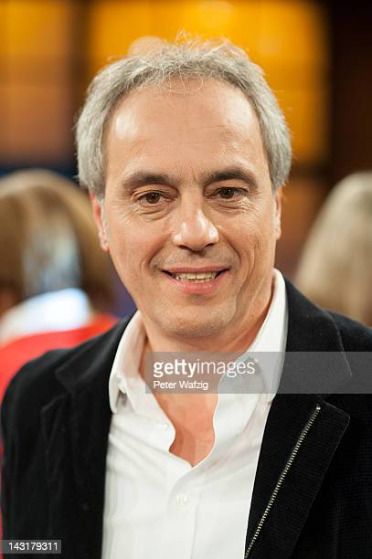 Christian Rach attends the photocall after 'Koelner Treff'TVShow on April 20 2012 in Cologne Germany