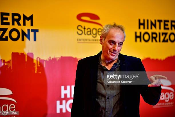 Christian Rach attends the red carpet at the Hinterm Horizont Musical premiere at Stage Operretenhaus on November 10 2016 in Hamburg Germany