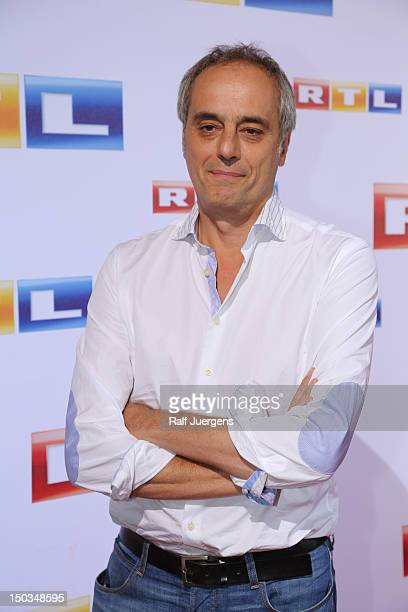 Christian Rach attends the RTL Programm press conference Season 2012/13 on August 16 2012 in Cologne Germany