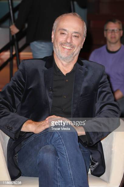 Christian Rach during the Markus Lanz TV show on November 5 2019 in Hamburg Germany