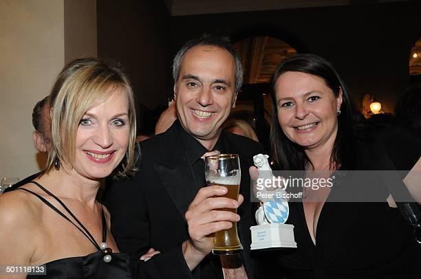 Christian Rach Ehefrau Andrea UrbanRach Partygast 21 Bayerischer Fernsehpreis 2009 Preis Der Blaue Panther Prinzregententheater München Bayern...