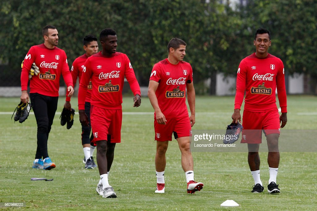 Peru Training Session