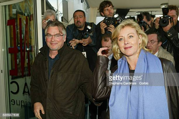 Christian Rauth and Cecile Auclert arrive at the 22nd Cognac Film Festival Opening Ceremony