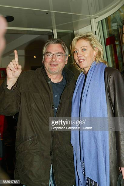 Christian Rauth and Cecile Auclert attend the 22nd Cognac Film Festival Opening Ceremony