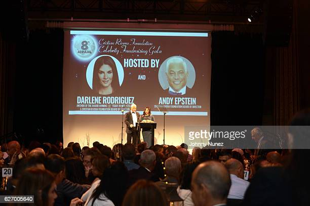 Christian Rivera Foundation boardmember Andy Epstein and WNBC News anchor Darlene Rodriguez host the 8th Annual Christian Rivera Foundation Celebrity...