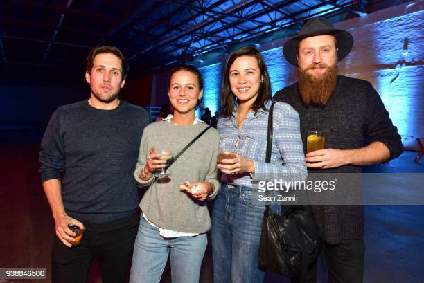 Christian Robinson Marie Robinson May Lin Le Goff and Howard Hunt attend GUM Studios 3 Year Anniversary at Gum Studios on March 24 2018 in the...